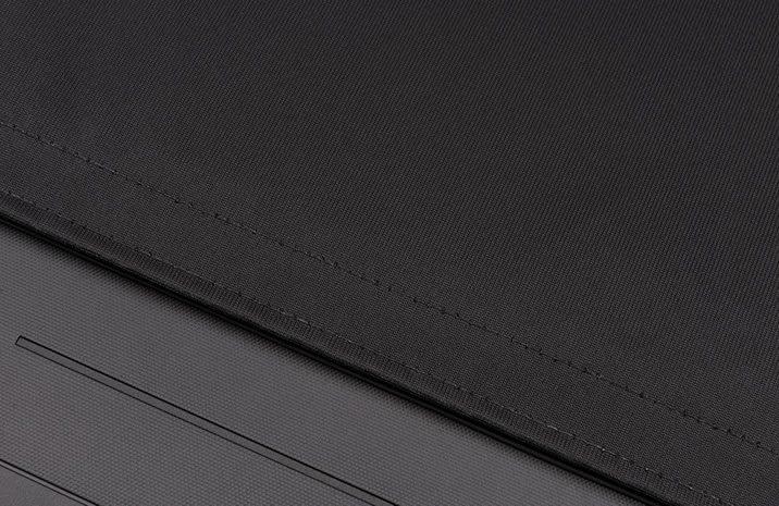 Matte Black Fabric